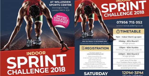 Track Academy Indoor Sprint Challenge 2018