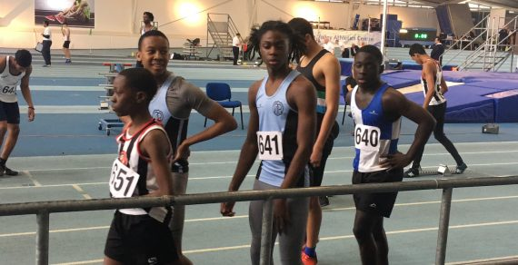 Track Academy enjoy storming success in county champs