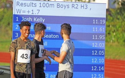 Young athletes shine at Track Academy schools' meet